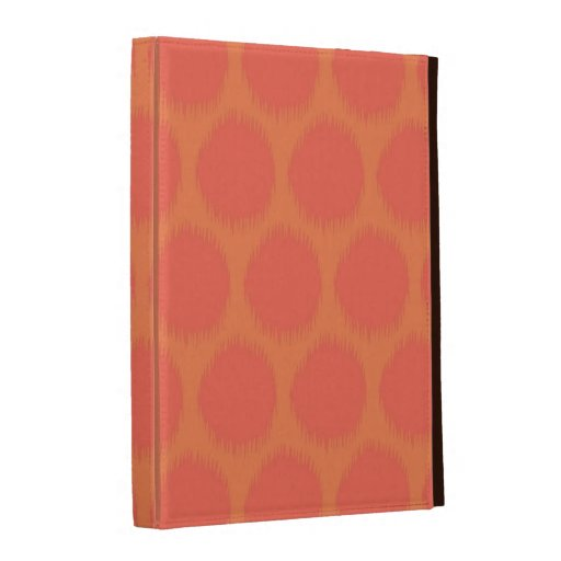Tribal polka dot primitive Aztec ikat dots pattern iPad Folio Cover
