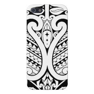 Tribal Polynesian tatoo with Samoan elements Case For iPhone SE/5/5s