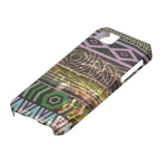 Tribal Prints on Spectacular Night Scene iPhone SE/5/5s Case