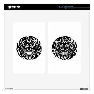 Tribal Protector Decal For Kindle Fire