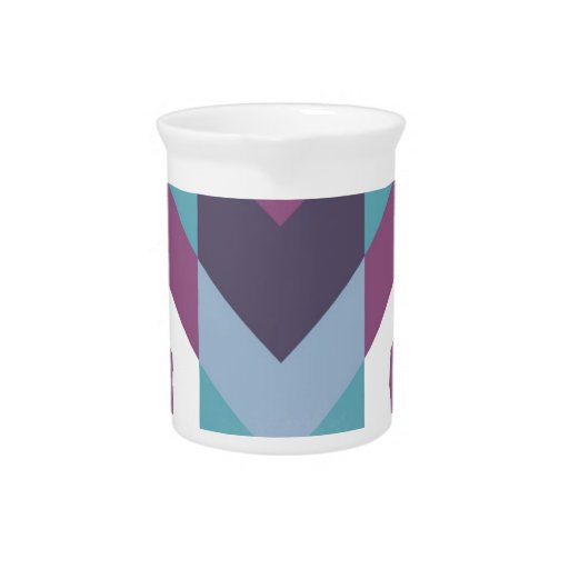 tribal púrpura jarra