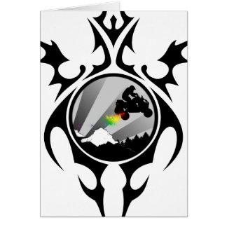 tribal quads card