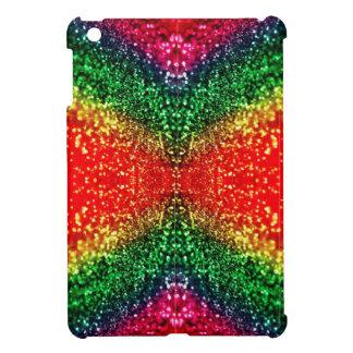 Tribal Rainbow Glitter Case for the iPad Mini