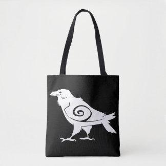Tribal Raven Tote Bag