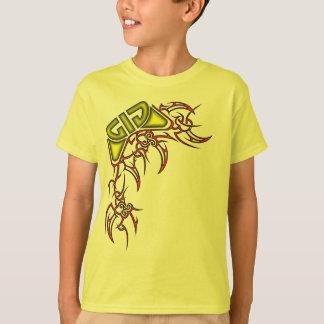 Tribal - Red/Yellow T-Shirt
