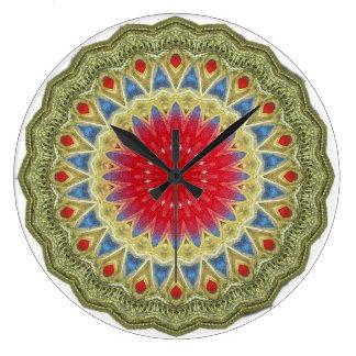 Tribal Reloj Redondo Grande