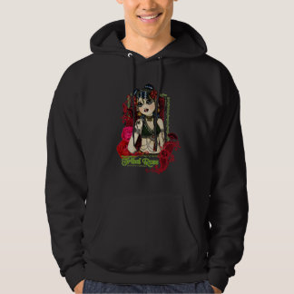 Tribal Rose Belly Dancer Character Hooded Sweat Hooded Pullover