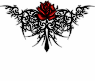 Tribal Rose Tattoo Designs Gifts On Zazzle