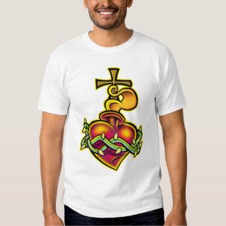 Tribal Sacred Heart T-shirt