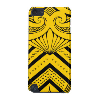 Tribal Samoan tattoo design SBW style iPod Touch (5th Generation) Covers