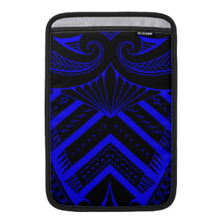 Tribal Samoan tattoo design SBW style MacBook Air Sleeve
