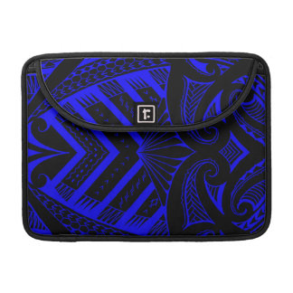 Tribal Samoan tattoo design SBW style MacBook Pro Sleeve