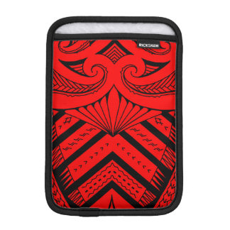 Tribal Samoan tattoo design SBW style Sleeve For iPad Mini
