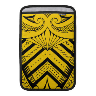 Tribal Samoan tattoo design SBW style Sleeve For MacBook Air