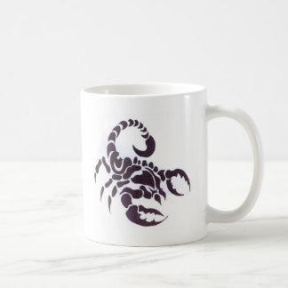 Tribal scorpion coffee mug