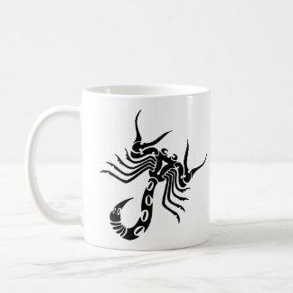 Tribal Scorpion Tattoo Classic White Coffee Mug