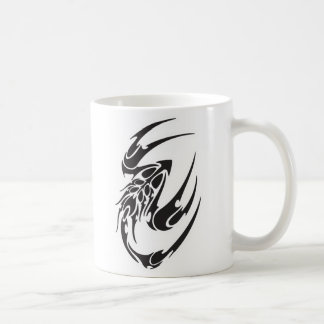 Tribal Scorpion Tattoo Design Classic White Coffee Mug