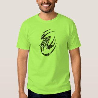 Tribal Scorpion Tattoo Design T-shirt
