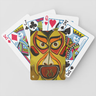 Tribal Scream Bicycle Playing Cards