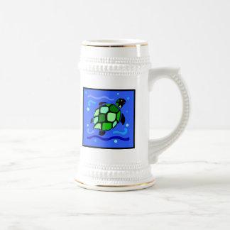 Tribal Sea Turtle Beer Stein