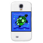 Tribal Sea Turtle Galaxy S4 Cases