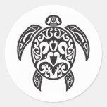 Tribal Sea Turtle Stickers