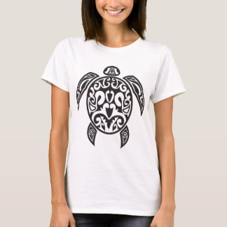 Tribal Sea Turtle T-Shirt