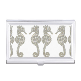 Tribal Seahorses Business Card Holders