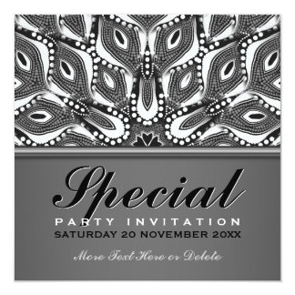Tribal Serpent Special Event Party Invitation