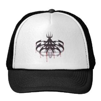 tribal shadow trucker hat