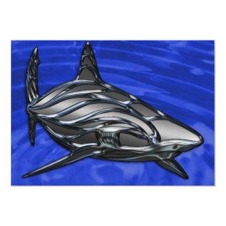 Tribal Shark Card
