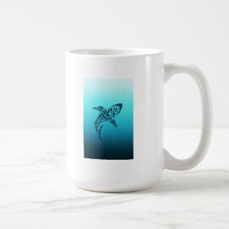 Tribal Shark Tattoo Coffee Mug