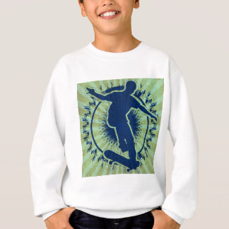 Tribal Skateboarder Sweatshirt