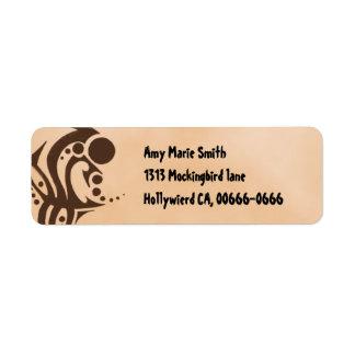 Tribal Skin Fantasy Address Label