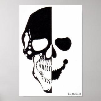 Tribal Skull 2 Poster