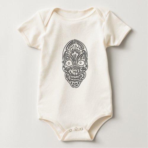 Tribal Skull Baby Bodysuit