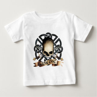 tribal skull baby T-Shirt