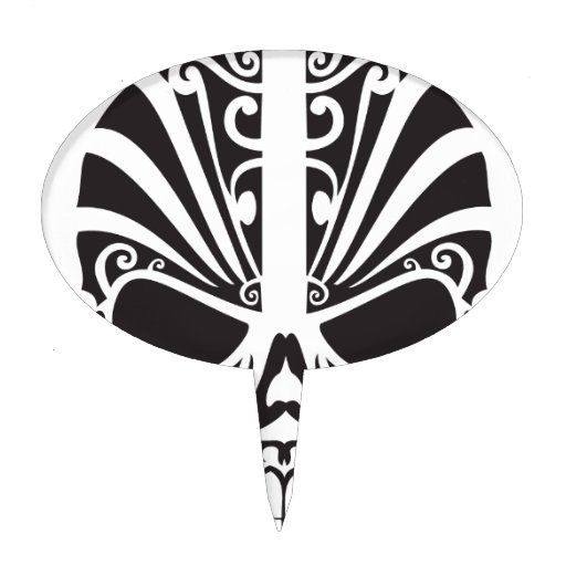 073 4 skulls tattoo picture