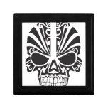 Tribal skull design jewelry boxes