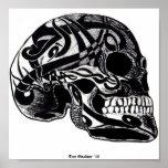 Tribal Skull (Tattoos) Posters