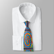 Tribal Snake Tie