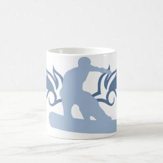 tribal snowboard coffee mug