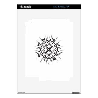TRIBAL SNOWFLAKE iPad 2 SKIN