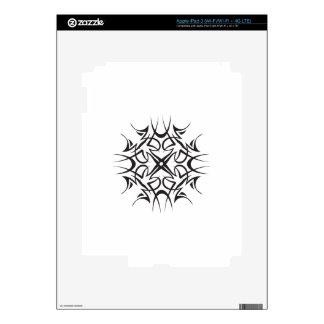 TRIBAL SNOWFLAKE DECAL FOR iPad 3