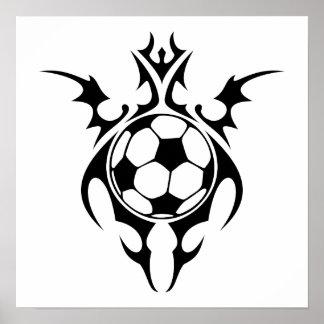 tribal soccer poster