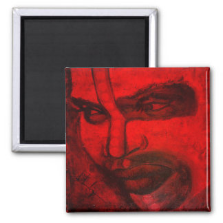 Tribal soul 2 inch square magnet