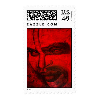 Tribal soul postage stamps