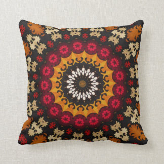 Tribal Southwest Geometric Boho Pattern Throw Pillow