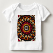 Tribal Southwest Vibrant Colored Pattern Baby T-Shirt