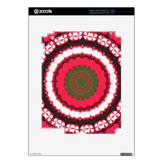 Tribal Southwest Vibrant Colored Pattern Skin For iPad 2